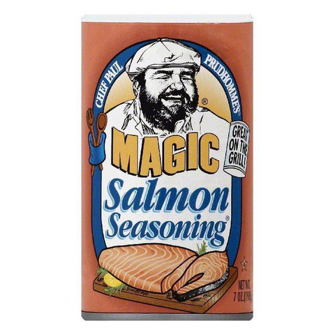 Chef Paul Prudhommes Salmon Seasoning, 7 OZ (Pack of 6)