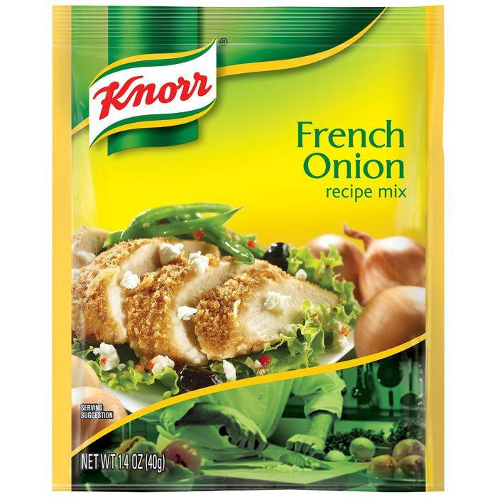 Knorr French Onion Recipe Mix 1.4 Oz Packet (Pack of 12)