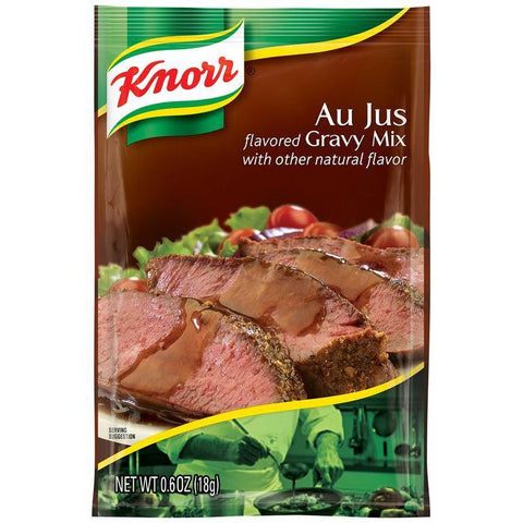Knorr Au Jus Gravy Mix 0.6 Oz Packet (Pack of 12)