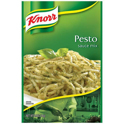 Knorr Pesto Sauce Mix 0.5 Oz Packet (Pack of 12)