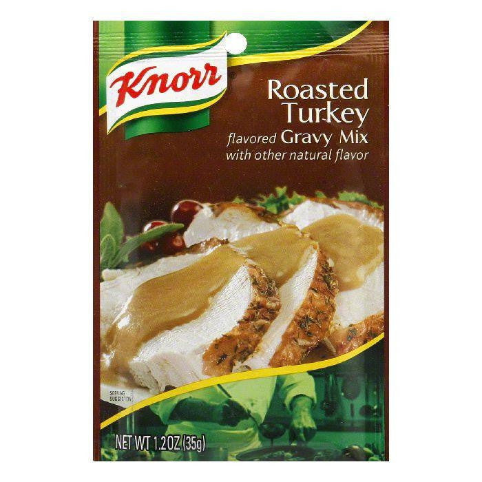 Knorr Gravy Classics Roasted Turkey Gravy Mix, 1.2 OZ (Pack of 12)