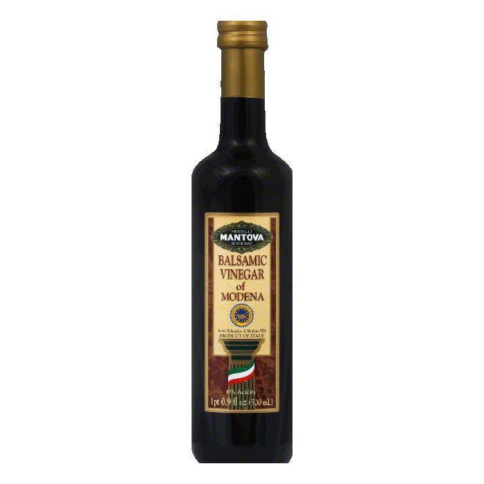 Mantova Balsamic Vinegar of Modena, 17 OZ (Pack of 6)
