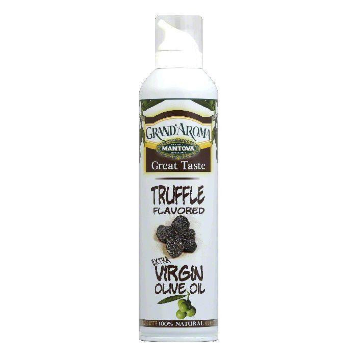 Mantova Truffle Extra Virgin Olive Oil Spray, 8 OZ (Pack of 6)