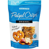 Pretzel Crisps Original Deli Style Pretzel Crackers 14.0 Oz Bag (Pack of 12)
