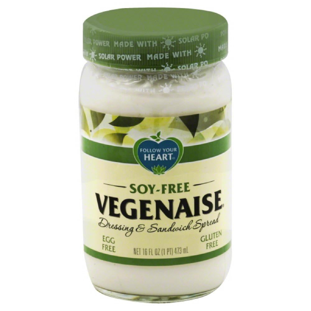 Follow Your Heart Soy-Free Vegenaise, 16 Oz (Pack of 6)