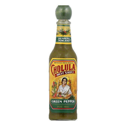 Cholula Green Pepper Hot Sauce, 5 Oz (Pack of 12)
