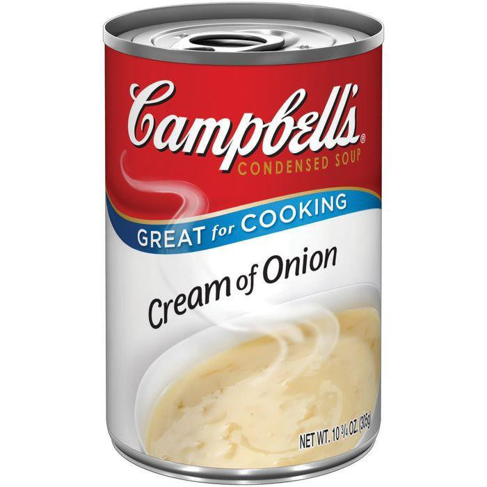 Campbell's Cream of Onion R&W Condensed Soup 10.75 Oz Pull-Top (Pack of 12)
