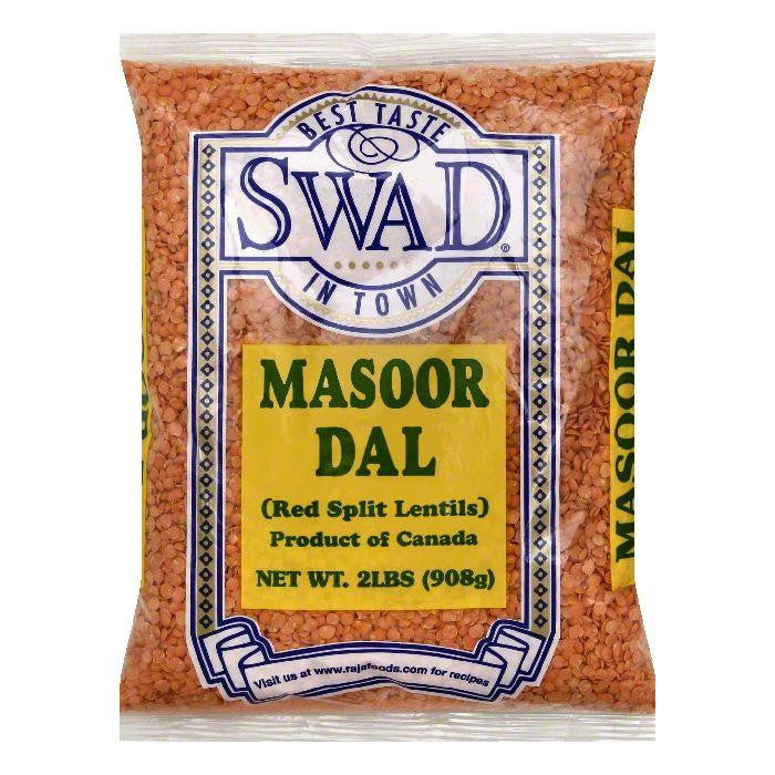 Swad Masoor Dal, 2 lb (Pack of 6)