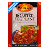 Patel Sauce Roasted Eggplant with Tomato and Onion, 9.9 OZ (Pack of 10)