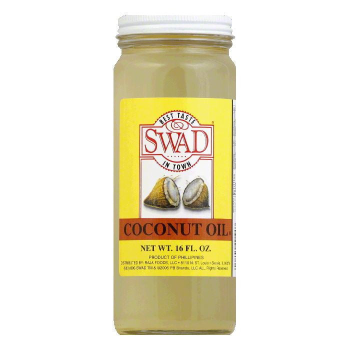Swad Oil Coconut, 15 OZ (Pack of 12)