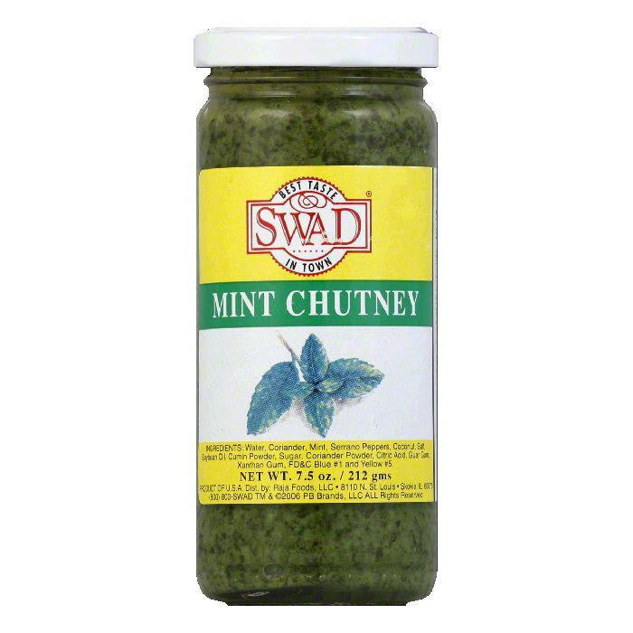 Swad Chutney Mint, 7.5 OZ (Pack of 12)