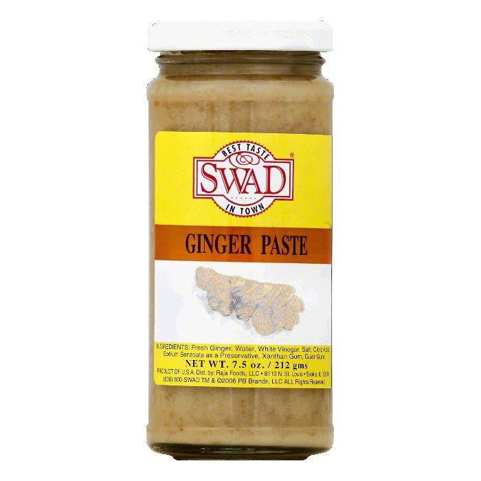 Swad Ginger Paste, 7.5 OZ (Pack of 12)