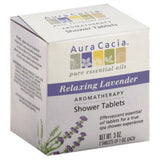 Aura Cacia Relaxing Lavender Aromatherapy Shower Tablets, 3 Oz (Pack of 3)