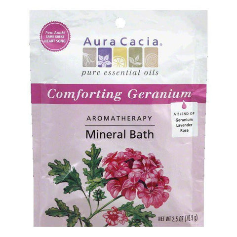 Aura Cacia Mineral Bath Heart Song, 2.5 OZ (Pack of 6)
