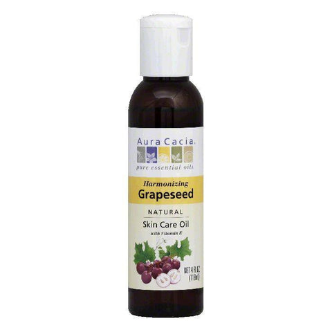 Aura Cacia Oil Carrier Grapeseed, 4 OZ