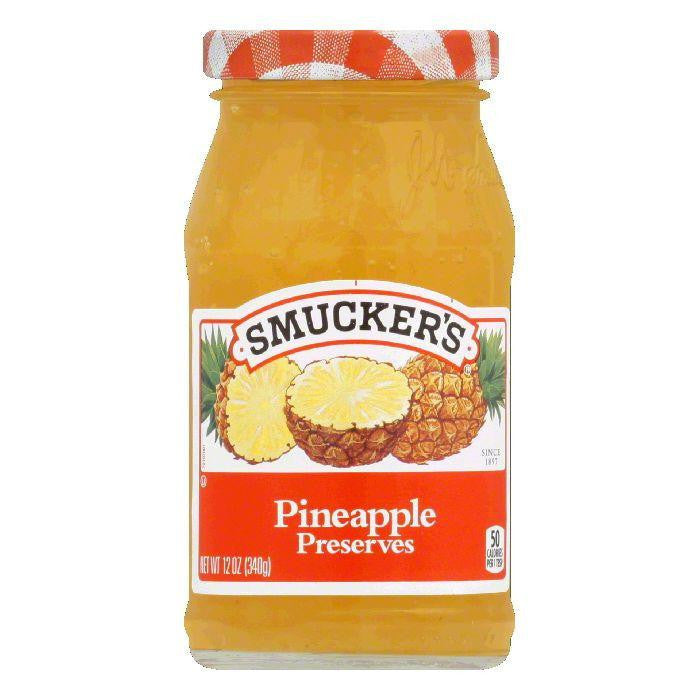 Smucker's Pineapple Preserves, 12 OZ (Pack of 6)