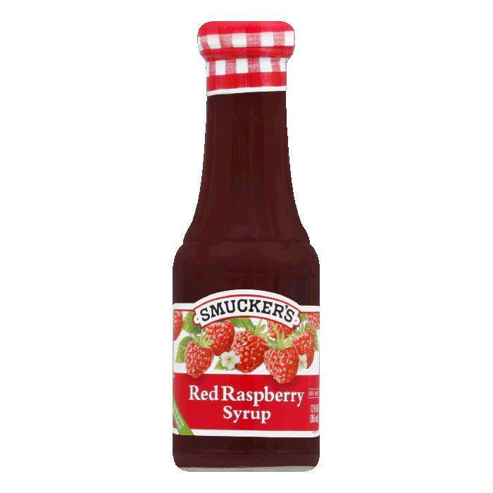 Smucker's Syrup Red Raspberry, 12 OZ (Pack of 6)
