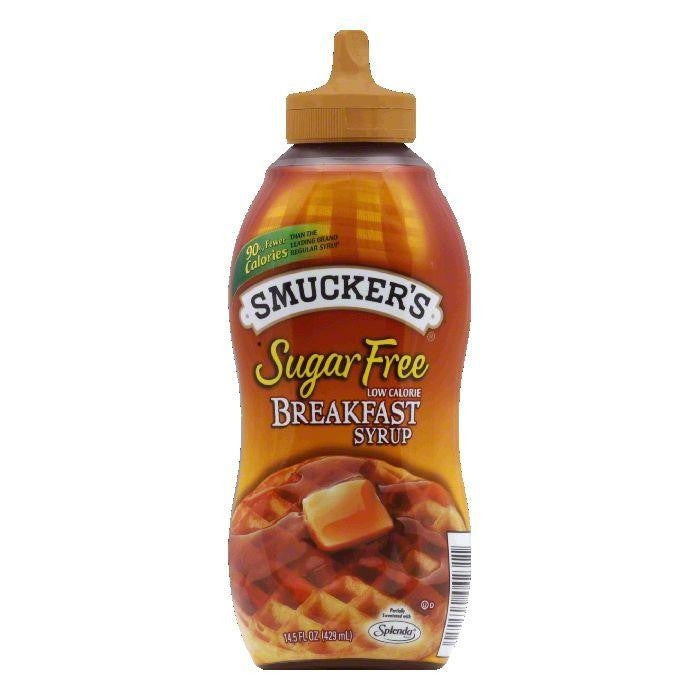 Smucker's Breakfast Syrup Sugar Free, 14.5 OZ (Pack of 12)