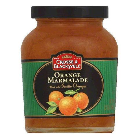 Crosse & Blackwell Orange Marmalade, 12 OZ (Pack of 6)