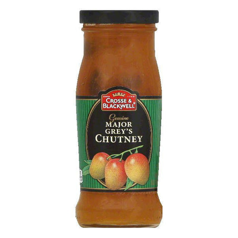 Crosse & Blackwell Chutney Major Greys, 9 OZ (Pack of 6)