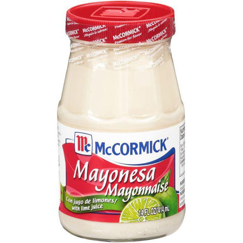 McCormick Mayonesa Mayonnaise with Lime Juice 14 fl. Oz (Pack of 12)