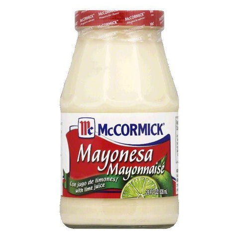 McCormick Mayonnaise with Lime, 28 OZ (Pack of 6)