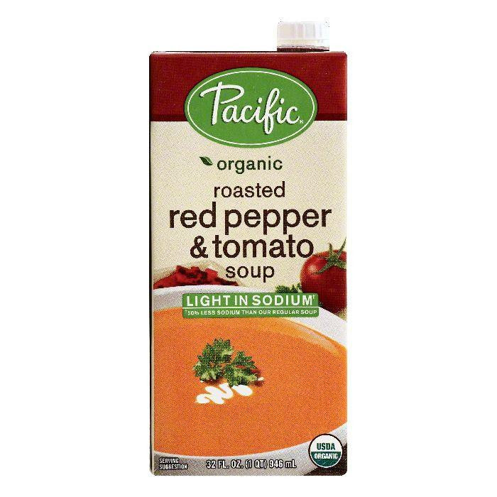 Pacific Roasted Red Pepper & Tomato Soup, 32 OZ (Pack of 12)