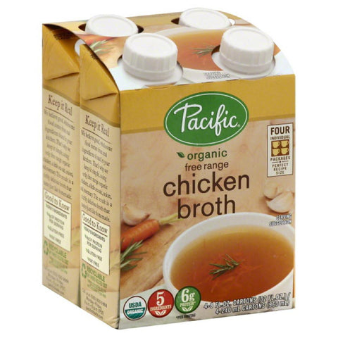 Pacific Free Range Chicken Broth, 32 Oz (Pack of 6)
