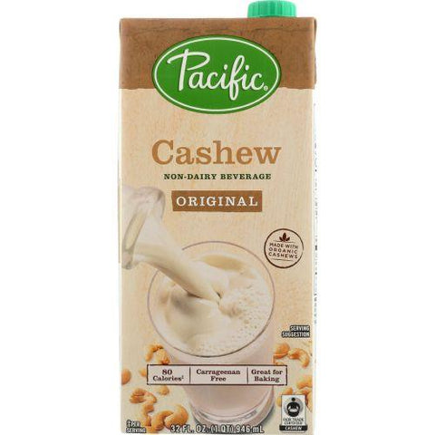 Pacific Foods Cashew Original, 32 fl oz (Pack of 6)