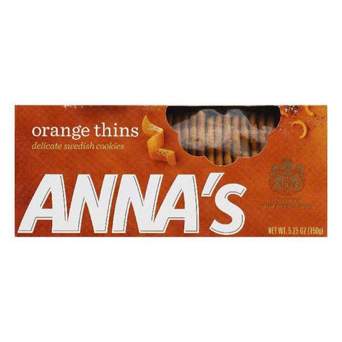 Annas Orange Thins, 5.25 OZ (Pack of 12)