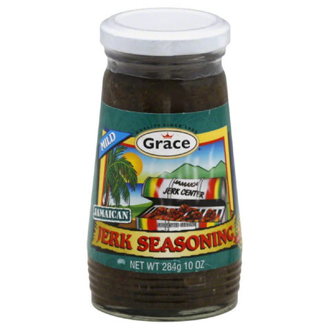 Grace Mild Jamaican Jerk Seasoning, 10 Oz (Pack of 24)