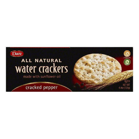 Dare Cracked Pepper Crackers, 4.4 OZ (Pack of 12)