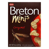 Dare Breton Crackers Minis Original Wheat, 8 OZ (Pack of 12)