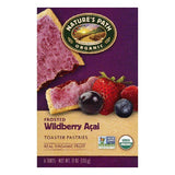 Natures Path Wildberry Acai Frosted Toaster Pastries, 6 ea (Pack of 12)