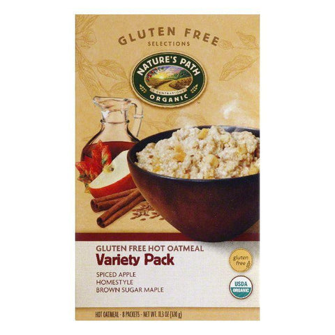 Natures Path Variety Pack Oatmeal, 11.3 Oz (Pack of 6)