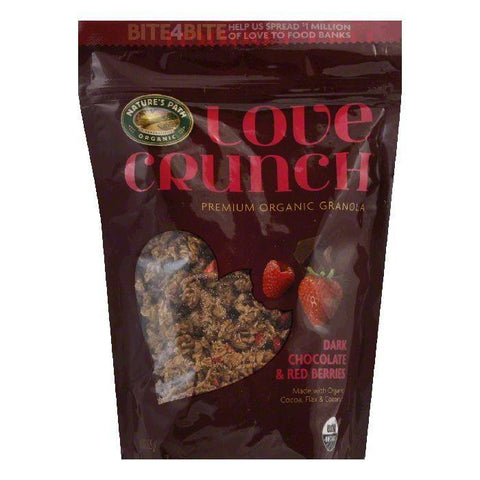 Love Crunch Love Crunch Dark Chocolate & Red Berries Premium Organic Organic Granola, 11.5 Oz (Pack of 6)