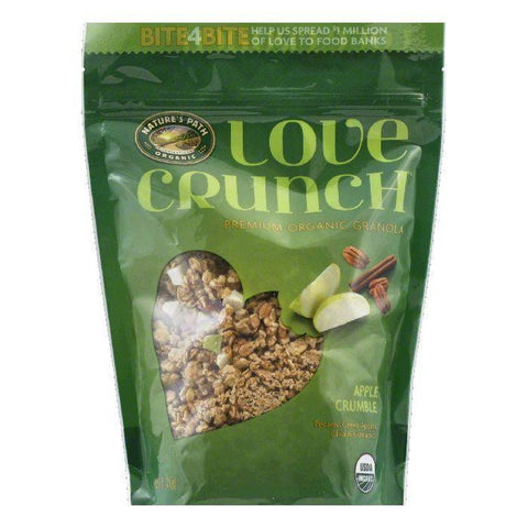 Love Crunch Apple Crumble Premium Organic Granola, 11.5 Oz (Pack of 6)