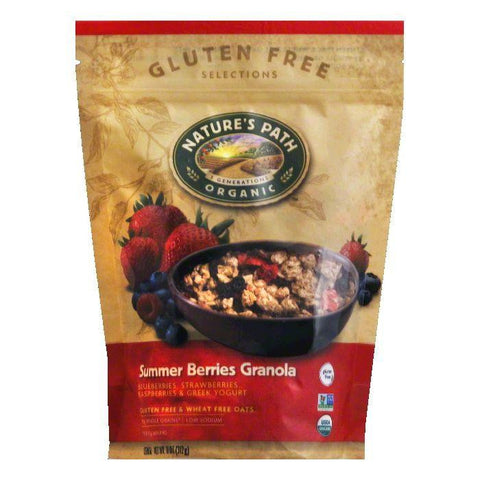 Natures Path Summer Berries Granola, 11 Oz (Pack of 8)