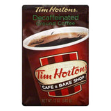 Tim Hortons Decaffeinated Ground Coffee, 12 OZ (Pack of 6)