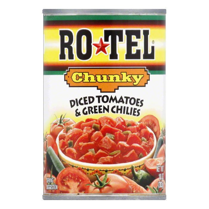 Rotel Tomatoes with Green Chiles, 10 OZ (Pack of 12)
