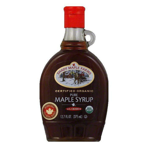 Shady Maple Farm Syrup Organic Grade B, 12.7 OZ (Pack of 12)