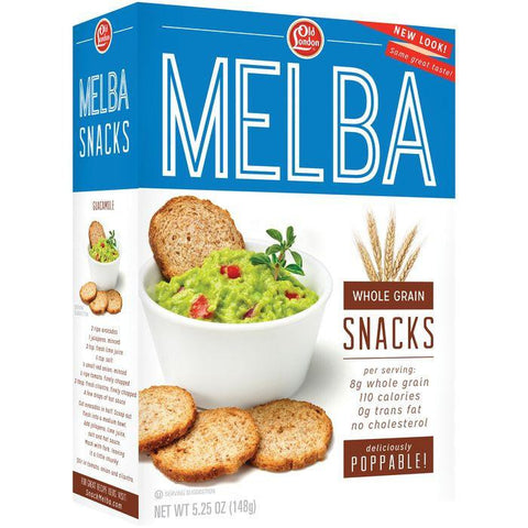 Old London Melba Snacks Whole Grain 5.25 Oz (Pack of 12)