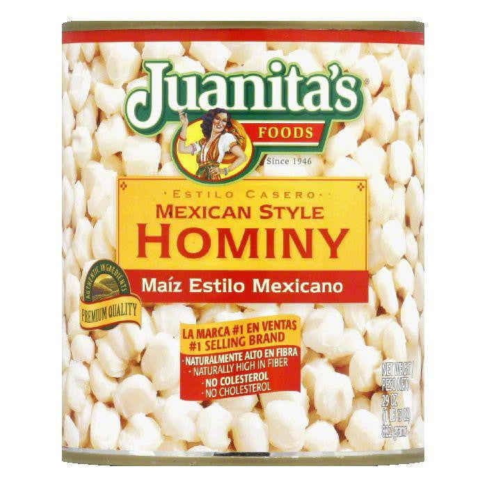 Juanitas Hominy, 29 OZ (Pack of 12)