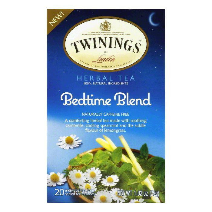 Twinings Bedtime Blend Naturally Caffeine Free Herbal Tea Bags, 20 BG (Pack of 6)