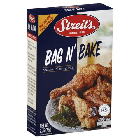 Streits Bag N' Bake Seasoned Coating Mix, 2.75 Oz (Pack of 12)