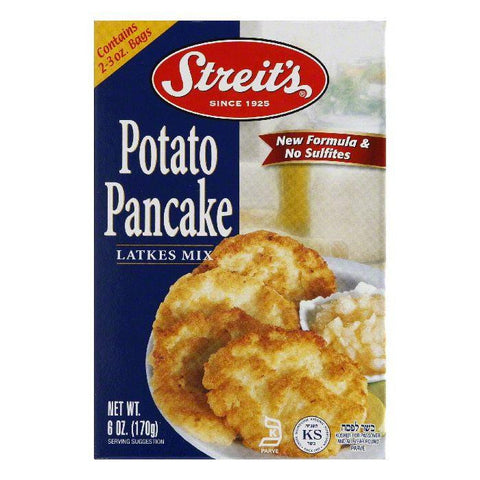 Streits Potato Pancake Mix, 6 OZ (Pack of 12)