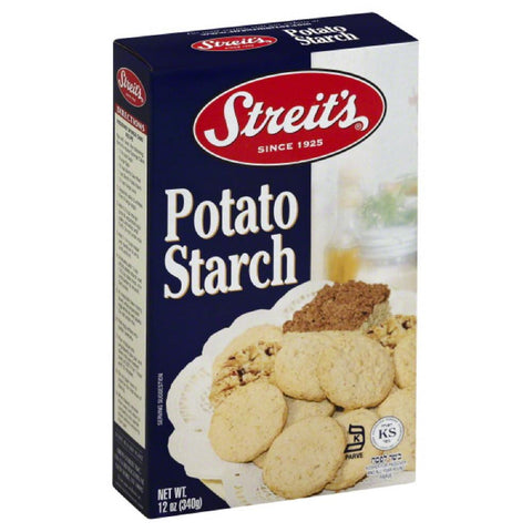 Streits Potato Starch, 12 Oz (Pack of 12)