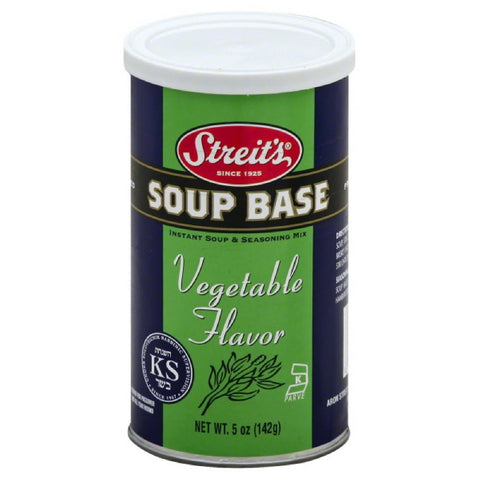 Streits Vegetable Flavor Soup Base, 5 Oz (Pack of 6)