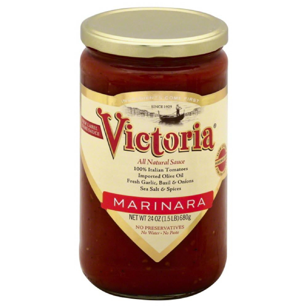 Victoria Marinara Sauce, 24 Oz (Pack of 6)