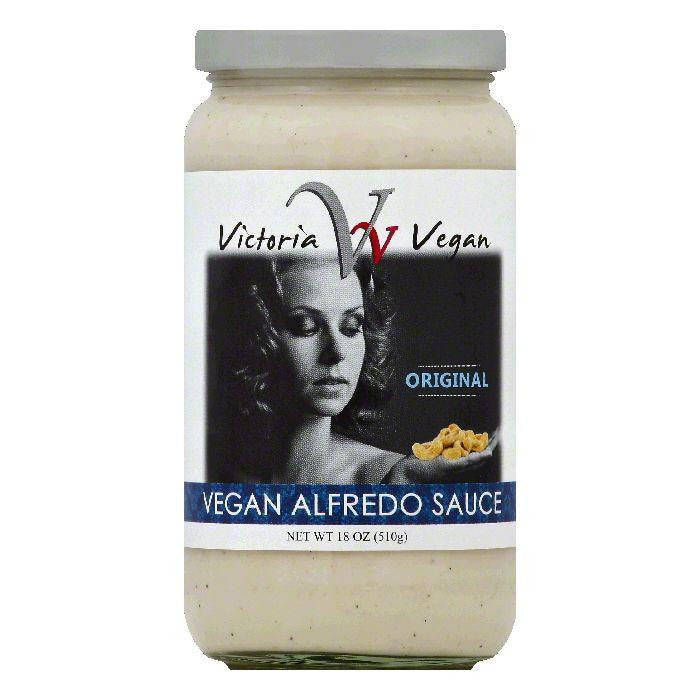 Victoria Vegan Original Vegan Alfredo Sauce, 18 OZ (Pack of 6)